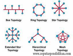Pengertian Dan Macam-Macam Topologi Jaringan Komputer Lengkap
