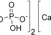 Pengertian Kalsium Fosfat dan Rumus Kimia Kalsium Fosfat