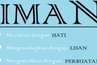Pengertian Iman Dalam Agama Islam Menurut Istilah dan Bahasa