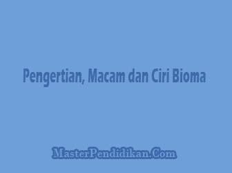 Pengertian-Macam-dan-Ciri-Bioma