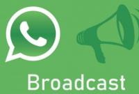 Cara Mengirim Pesan Broadcast di WhatsApp