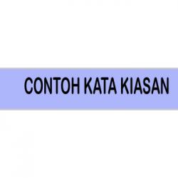 Contoh Kata Kiasan dalam Kalimat Bahasa Indonesia