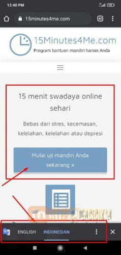 Tes 15minutes4me Bahasa Indonesia