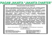 Hubungan Piagam Jakarta dan UUD 1945