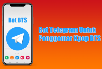 Bot Telegram Untuk Penggemar Kpop BTS