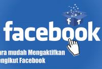 Cara mudah Mengaktifkan Pengikut Facebook