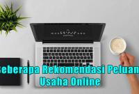 Beberapa Rekomendasi Peluang Usaha Online